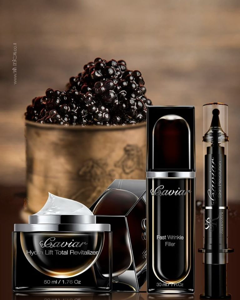 SR COSMETICS lanza la revolucionaria serie Caviar Premium: ¡productos únicos para el cuidado de la piel del rostro!