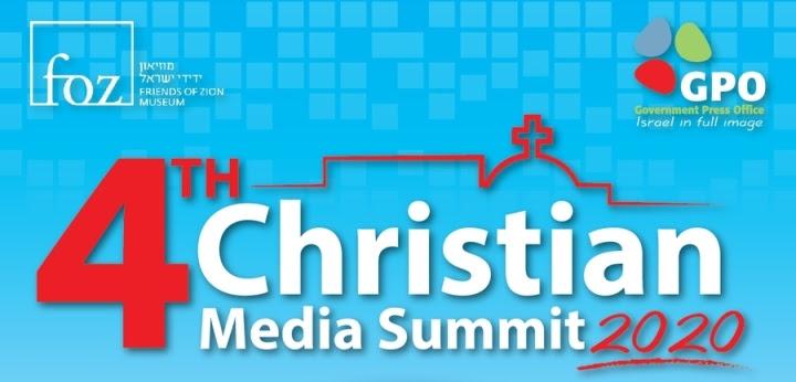 .La oficina de prensa del gobierno Israeli celebró virtualmente la 4a cumbre anual de medios cristianos