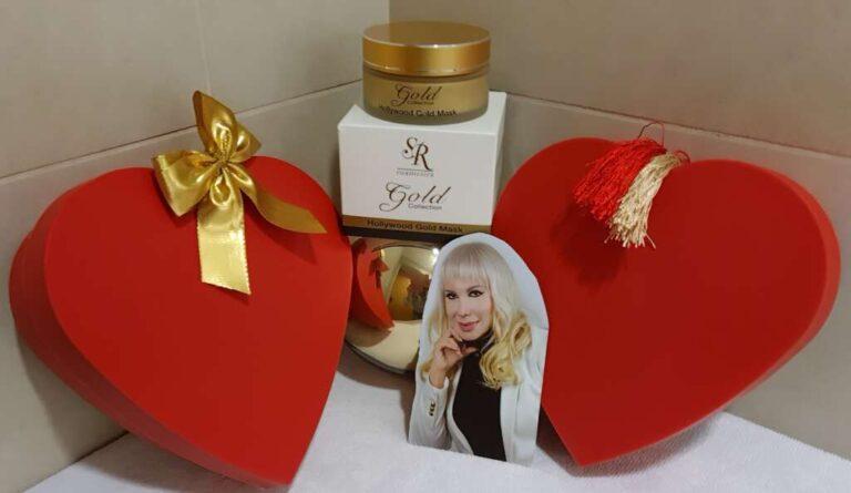 Máscara de oro de S R Cosmetics : Hollywood Gold Mask 24 K